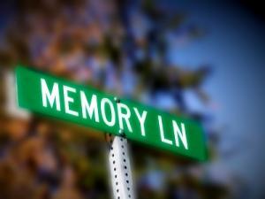memory lane, sign